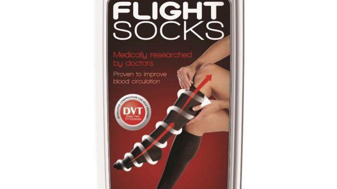 Go Travel Flight Socks Med