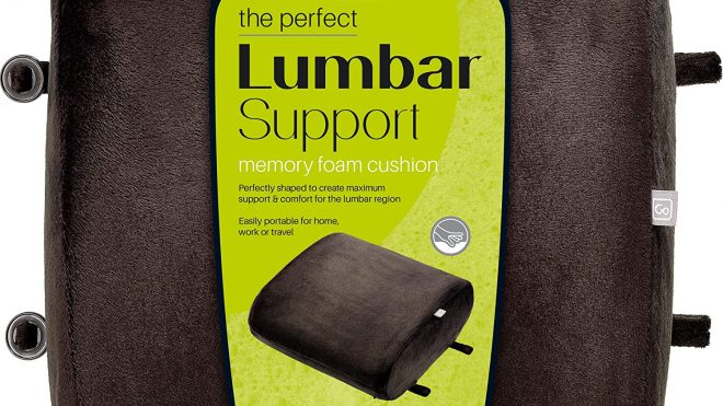 Go Travel Lumbar Support Cushion