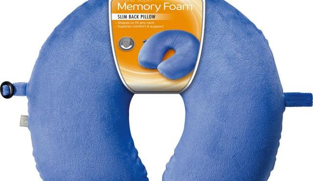 Go Travel Memory Foam Pillow