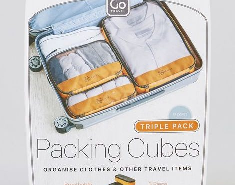 Go Travel Triple Packing Cubes