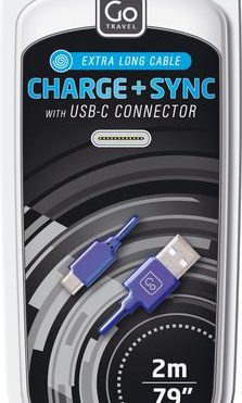 Go Travel 2M USB-C Cable